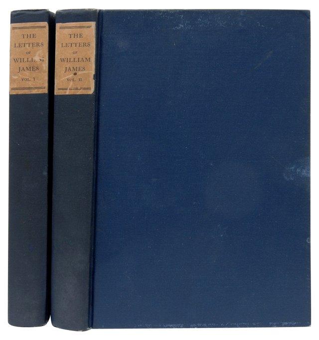 William James, 1st Ed, Pair