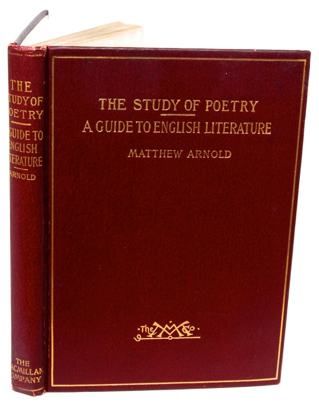 The Study of Poetry, 1st Ed