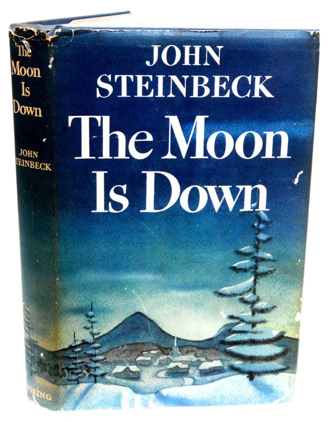 The Moon Is Down, 1st Ed