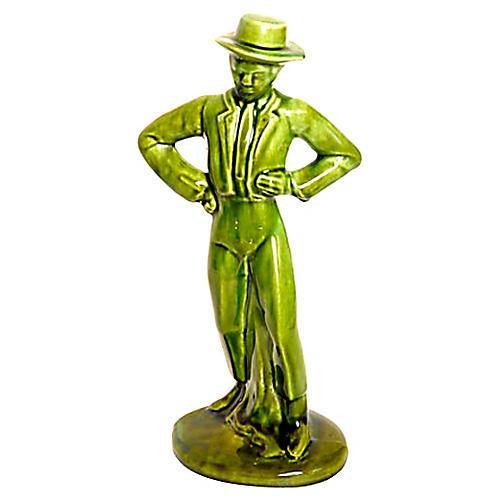 Ceramic Gaucho Figurine