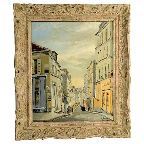 Paris Street Scene Montmartre