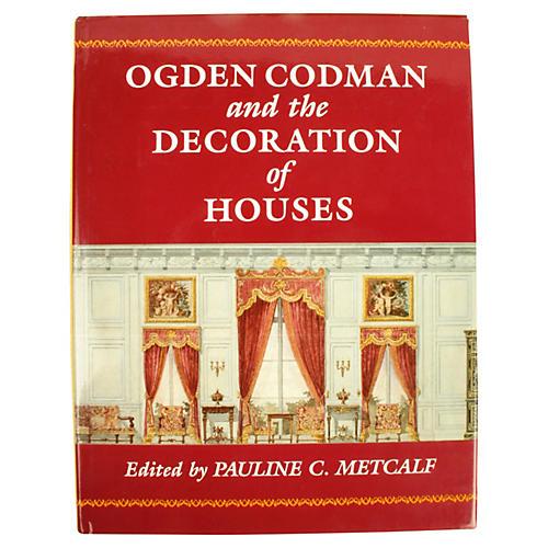 Ogden Codman, Decoration of Houses 1st E