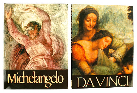 Michelangelo & Da Vinci Set, Set of 2