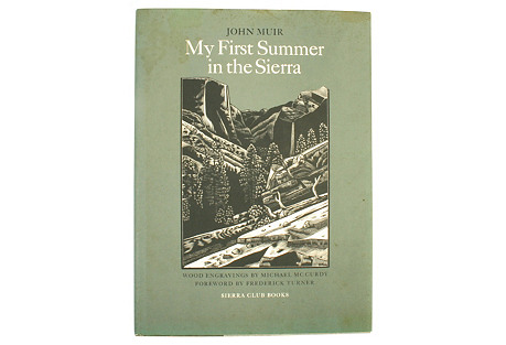 My First Summer in the Sierra, 1st Ed