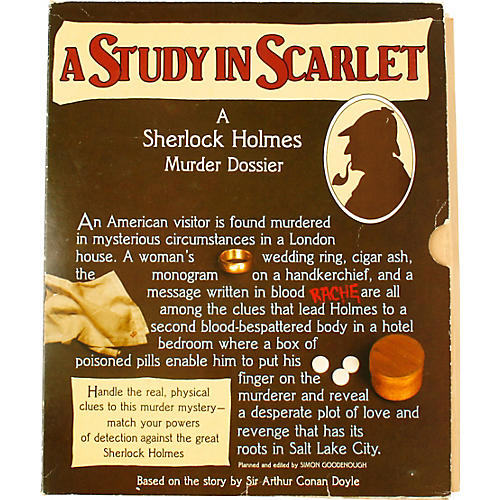 A Study in Scarlet, A Dossier, 1st Ed