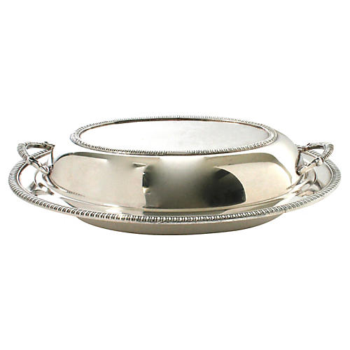 Silverplated Covered Serving Dish