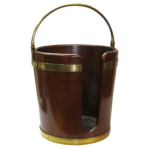 George III Plate Bucket, C. 1790