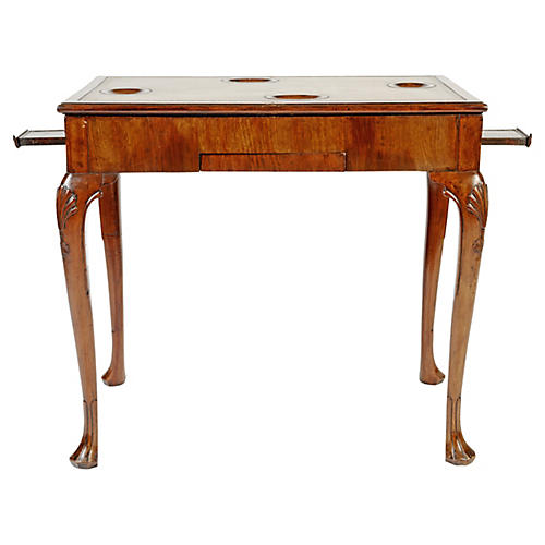 Irish Mahogany Game Table, C. 1740