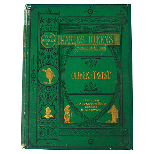 Oliver Twist by Charles Dickens, 1872