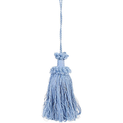 Large French Blue Tassel