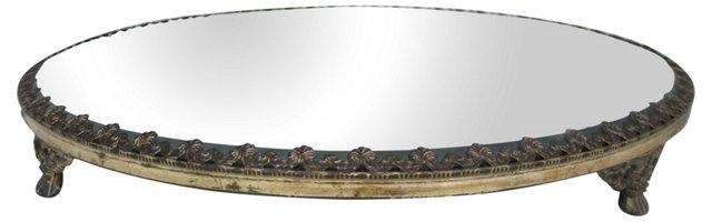 Antique Beveled Mirror Plateau