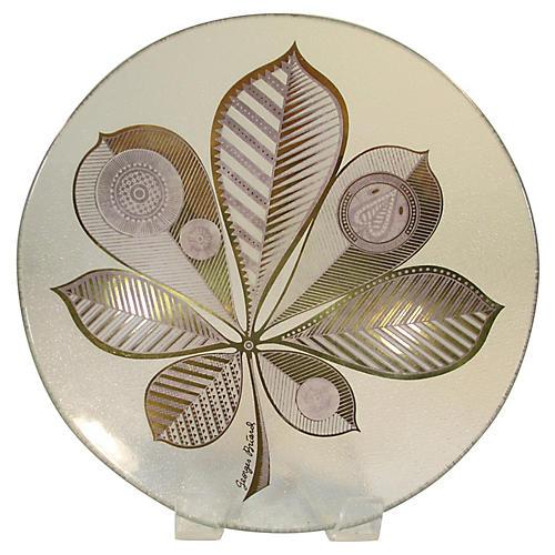 Georges Briard Midcentury Gilt Bowl