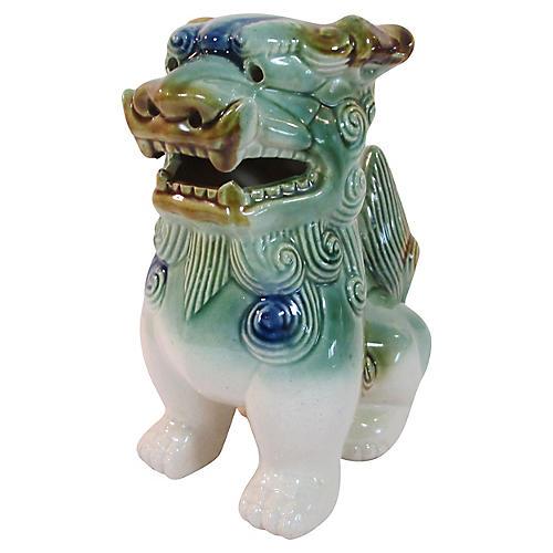 Japanese Majolica Foo Dog