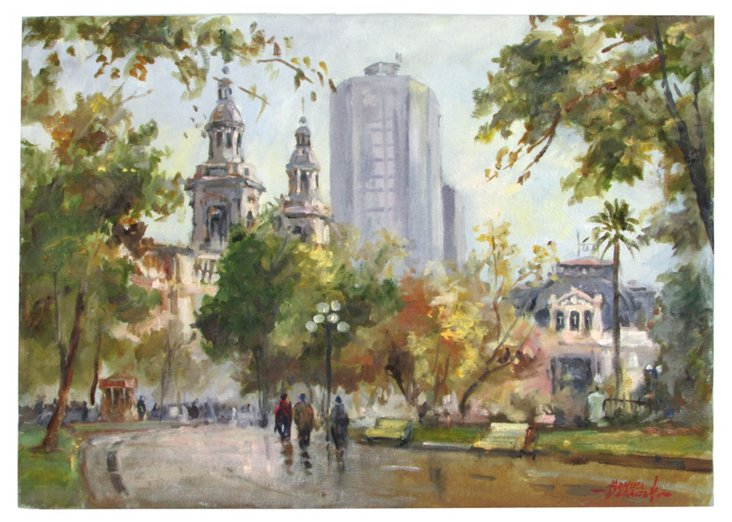 South American Cityscape