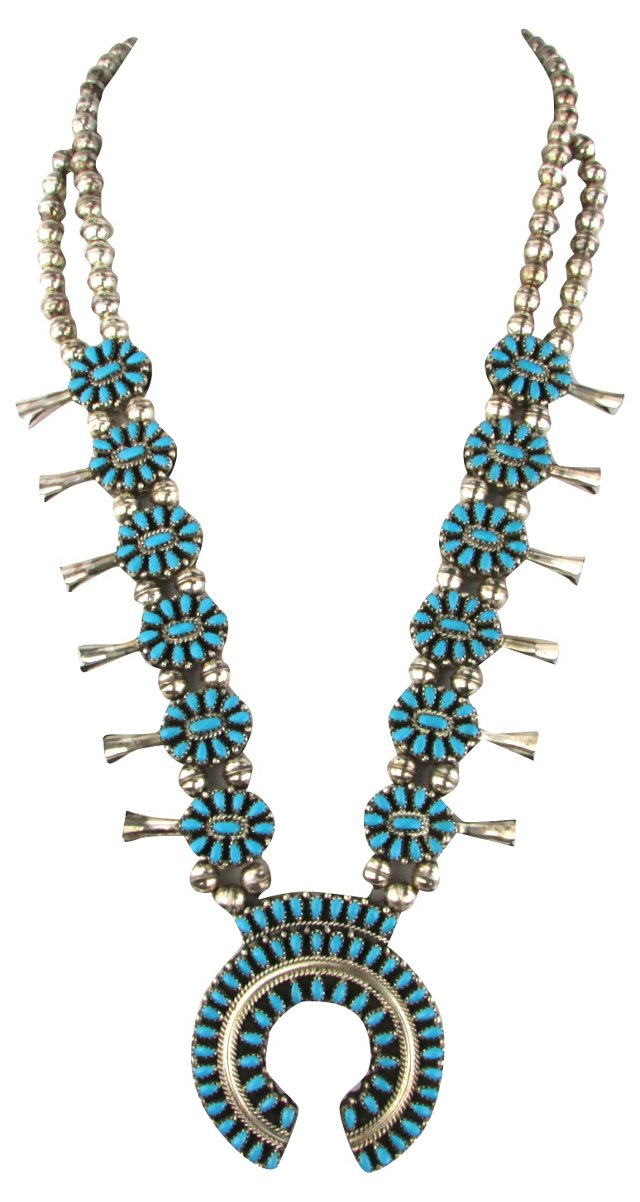 Reversible Coral & Turquoise Necklace