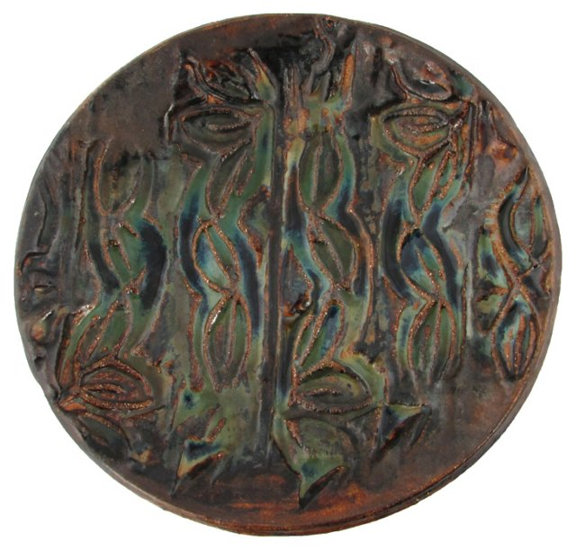 Modernist Studio Pottery Dish