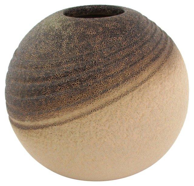 Hand-Thrown Ceramic Vase