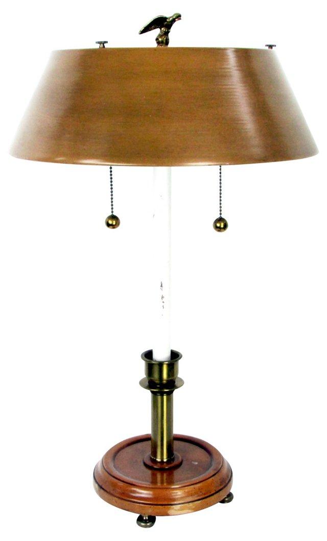 F. Cooper Studios Tole Lamp