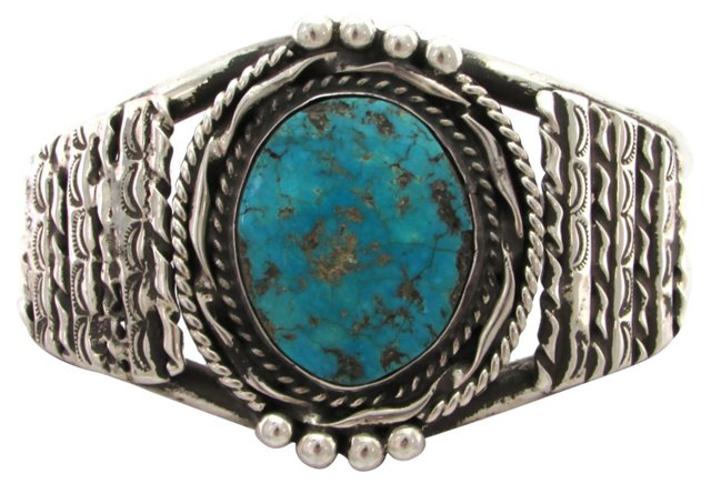 Navajo Cuff  w/ Turquoise