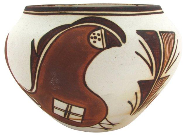 Acoma Jar w/ Parrot Design