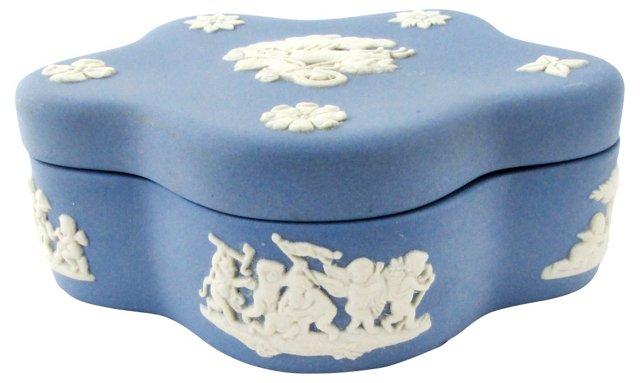 Petite Wedgwood Jasperware Box