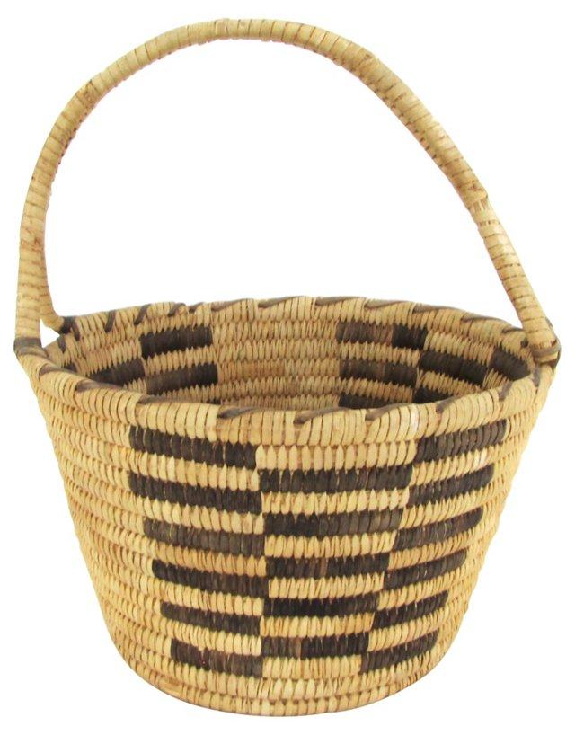 Papago  Basket w/ Handle