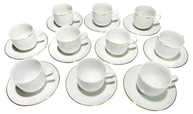 Creidlitz Bavaria Demitasse, Svc. for 10