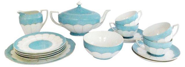 1930s Tea Set, 16 Pcs