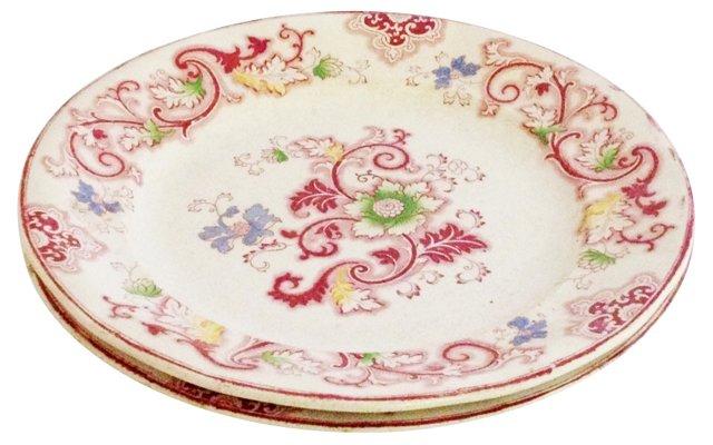 Aurora Dinner Plates, Pair