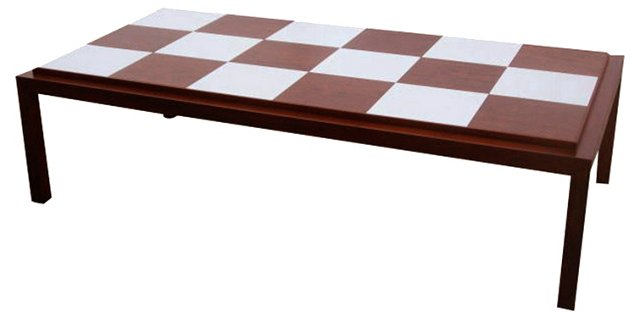 Lane Checkerboard Coffee Table