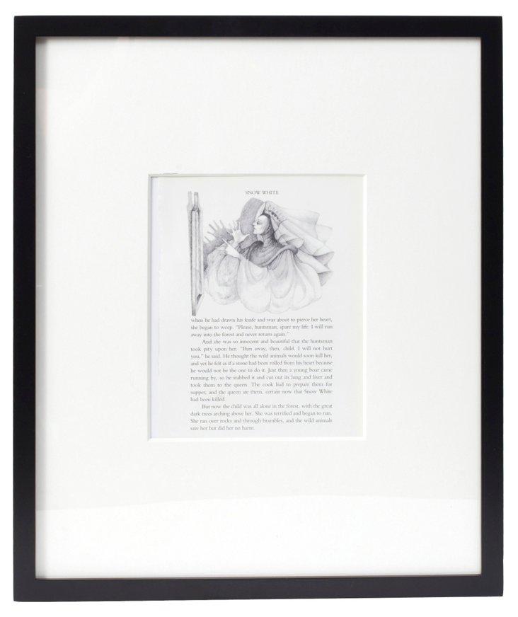 Snow White  Book Plate