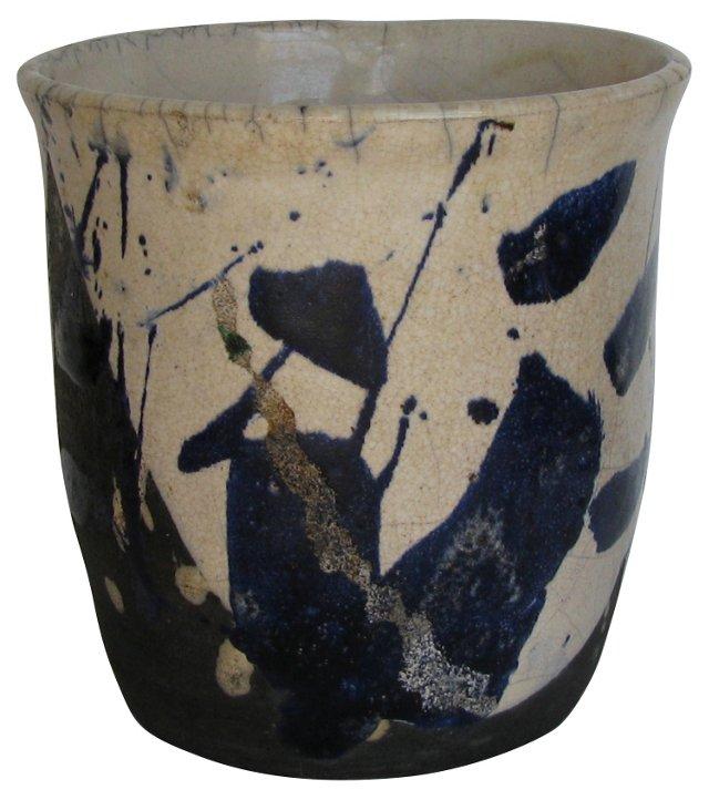 Raku Art Pottery Piece