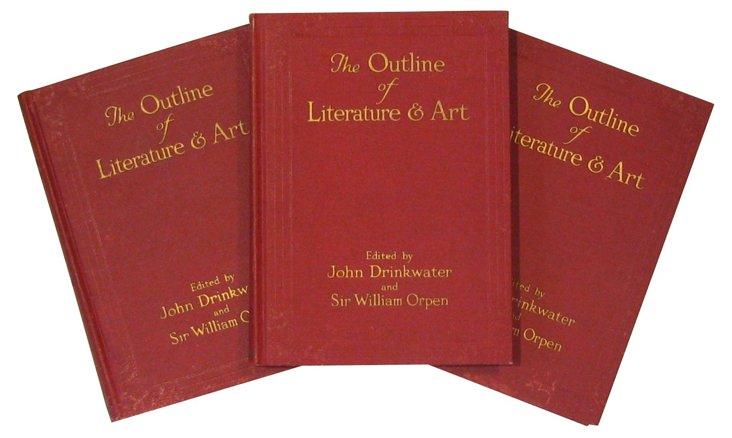 Outline Of Literature & Art, S/3