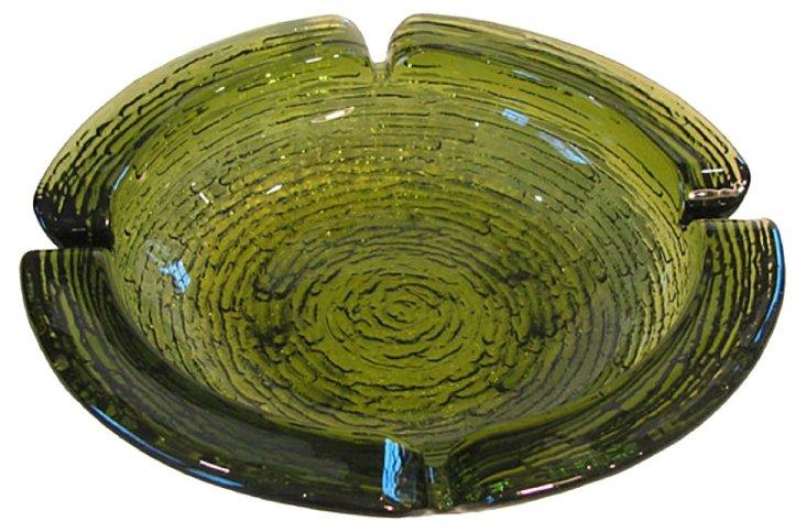 Lava Glass Ashtray