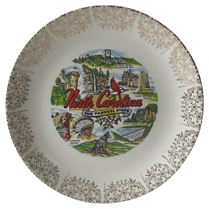 North Carolina Gilt Plate
