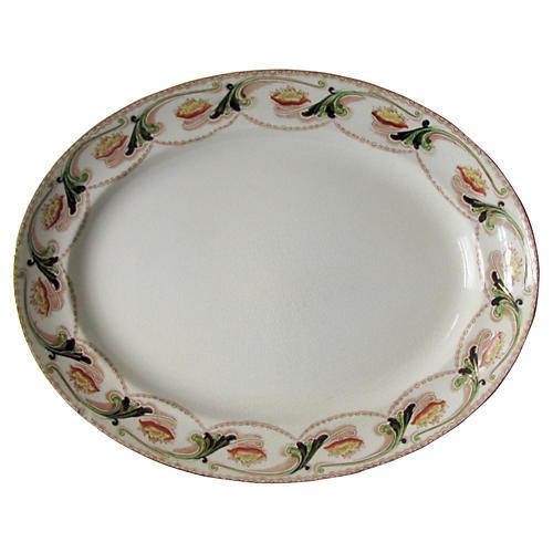 European Art Nouveau Platter