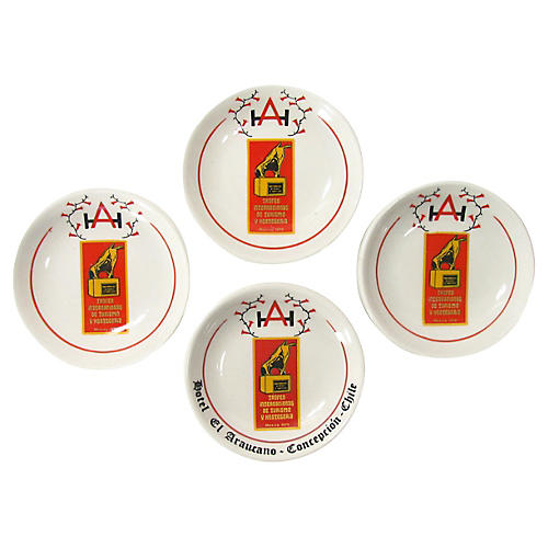 South American Tapas Bowls, S/4