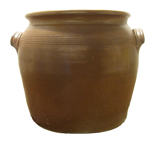 Large French Confit Pot