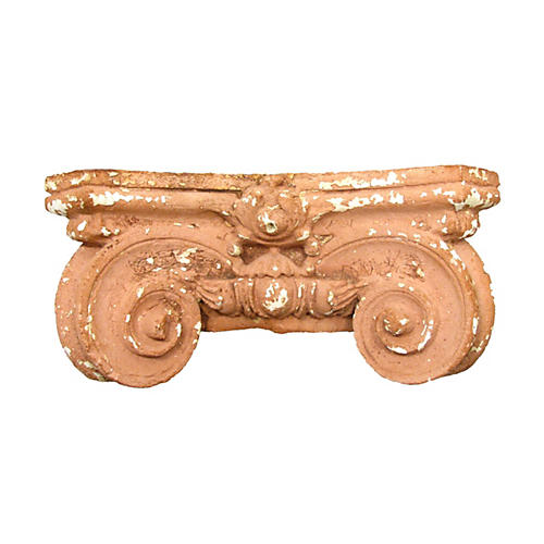 Antique Terracotta Capital