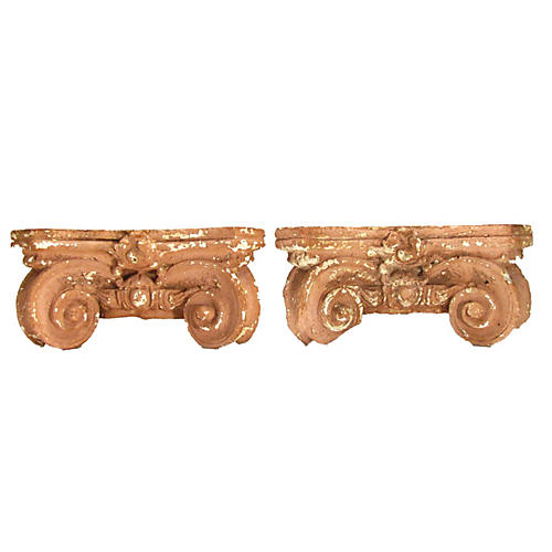 Antique Architectural Elements, Pair