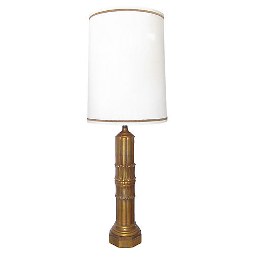 Acanthus Table Lamp w/ Shade