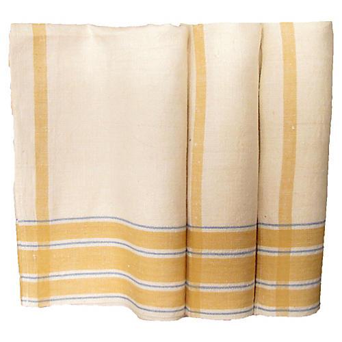 Provençal Linen Tea Towels, S/3