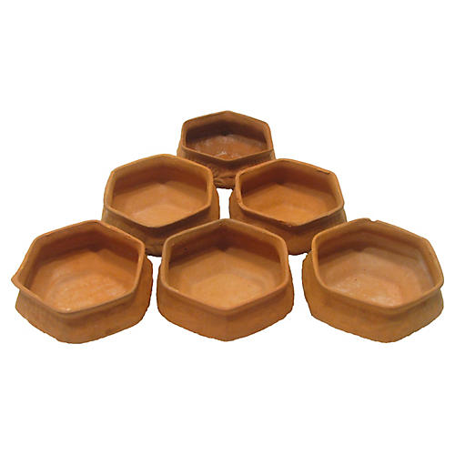 Terracotta Pot Collection, S/6