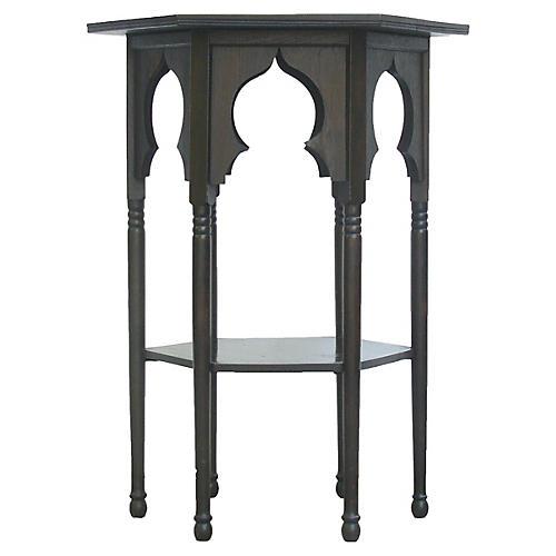 Moroccan Ebony Side Table