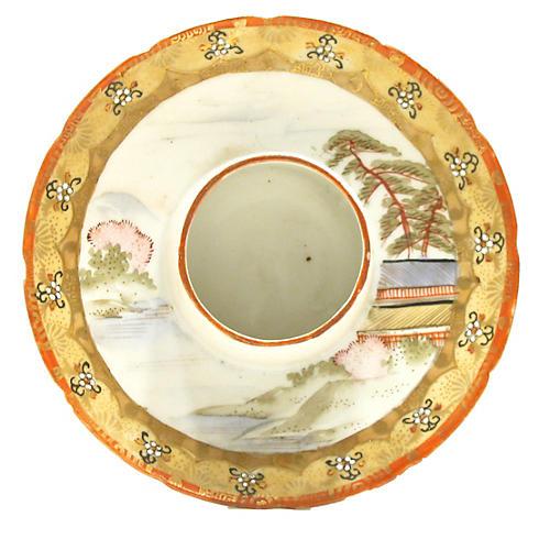 Asian Porcelain Match Striker