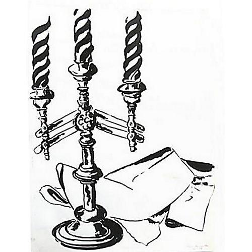 Tablescape in Black & White