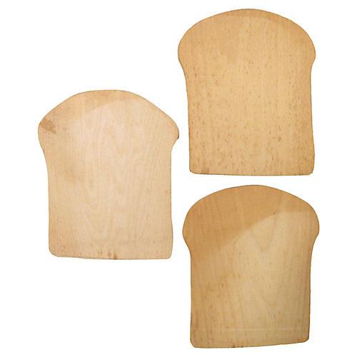Artisan Bread Boards, S/3