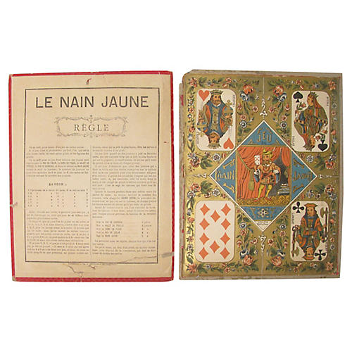 French Game Boards, Pair