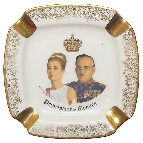 Princess Grace/Prince Ranier III Ashtray