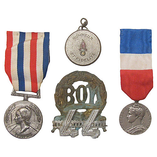French Medal Collection, S/4